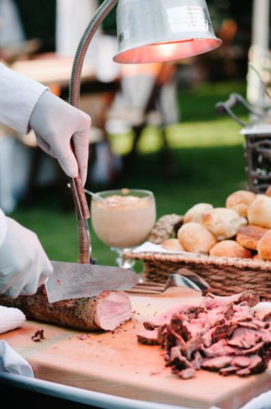 Wedding reception food ideas cinderollies foldable ballet