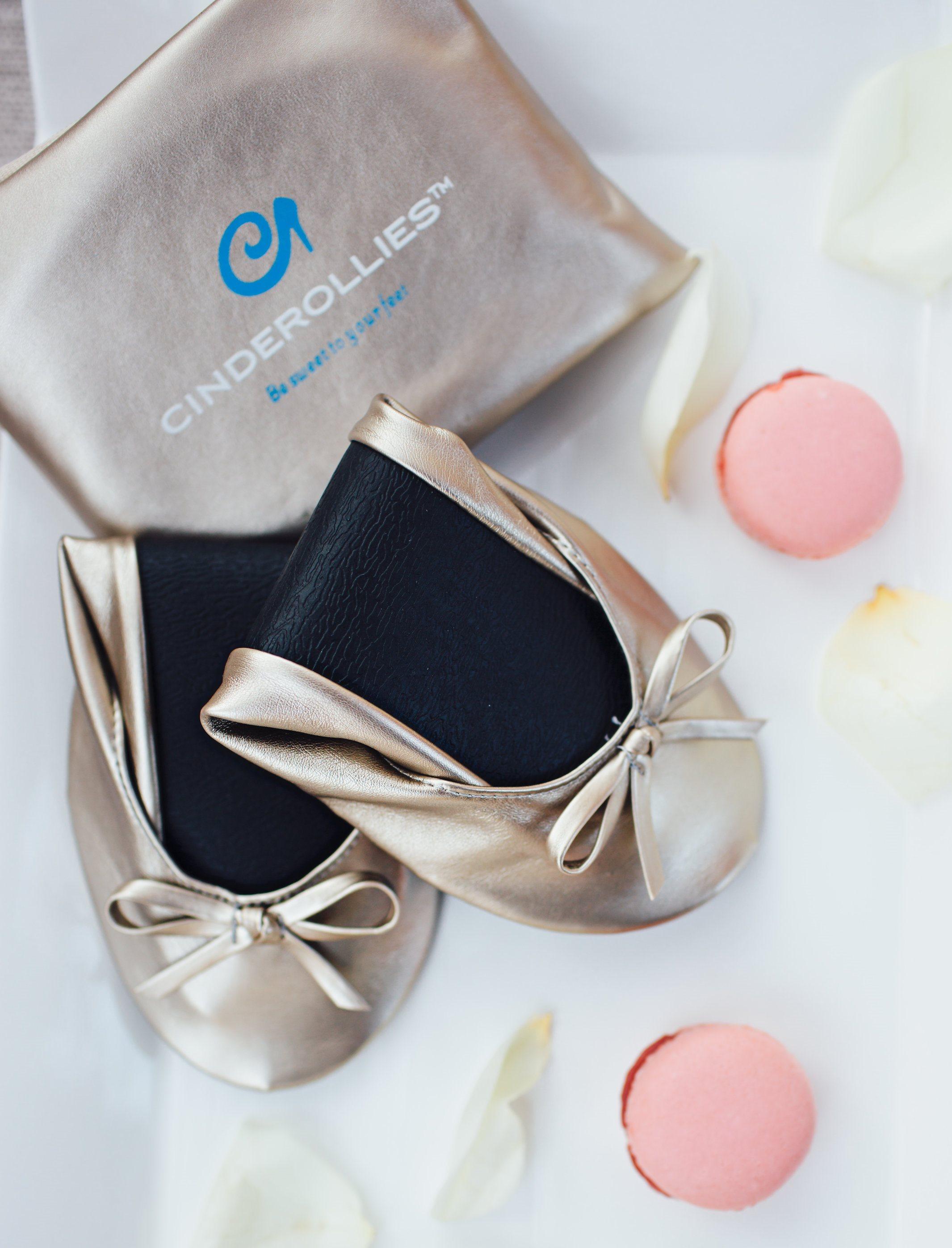 b782b9ac0744 Foldable Ballet Flats for Wedding Receptions